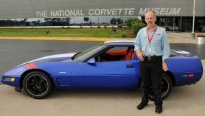 1996 Grand Sport with GM Engineer John Heinricy at the NCM