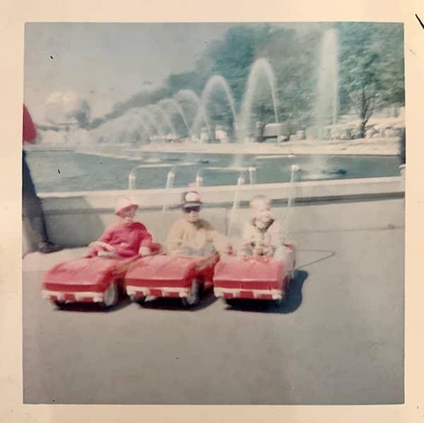 1964 World's Fair Corvette Strollers