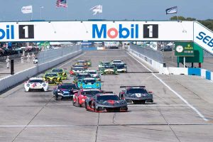 Corvette Racing at the 12 Hours Sebring 2021