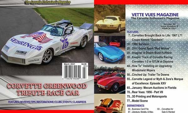 March 2021 Vette Vues Magazine Issue Preview