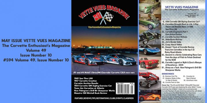 MAY 2021 VETTE VUES MAGAZINE ISSUE PREVIEW