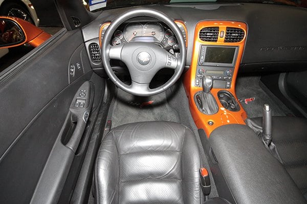 Interior Shot: Gary Chan's 2007 Corvette Indianapolis 500 Pace Car Edition Replica on display at the 2012 Corvette Chevy Expo in Texas.