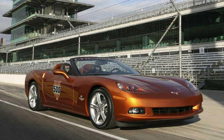 2007 Corvette Pace Car - Photo Credit Chevrolet Media