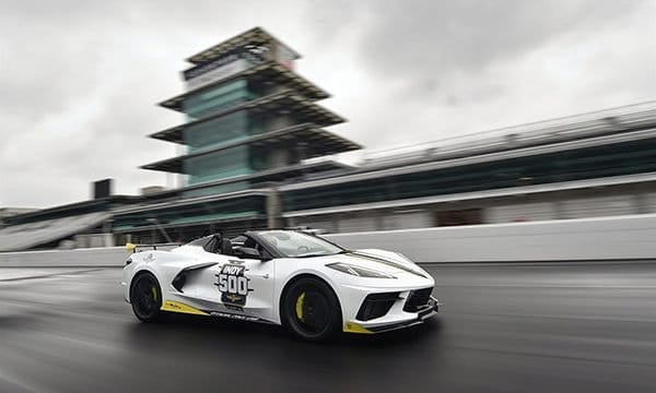 2021 Corvette Convertible to Pace the Indy 500 for the 18th Time