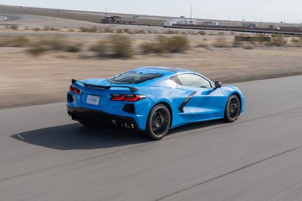 European Edition Corvette C8 Stingrays are due on sale in October 2021 in Europe