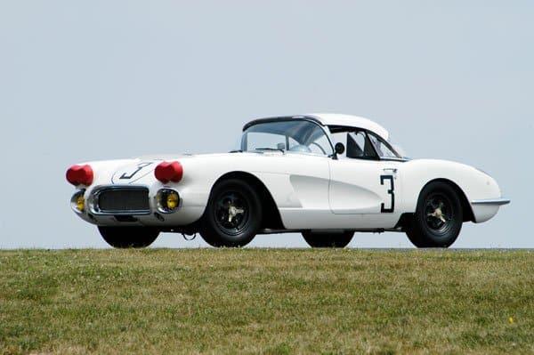 1960 Le Mans Corvette Race Car #3