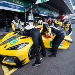 Corvette Racing finished fourth in GTE Pro at the Six Hours of Spa on Saturday May 1, 2021.