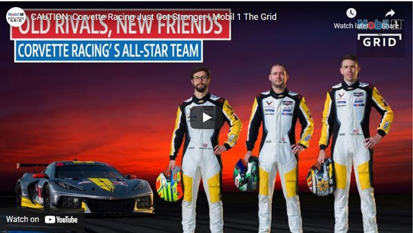 VIDEO: CAUTION-Corvette Racing Just Got Stronger