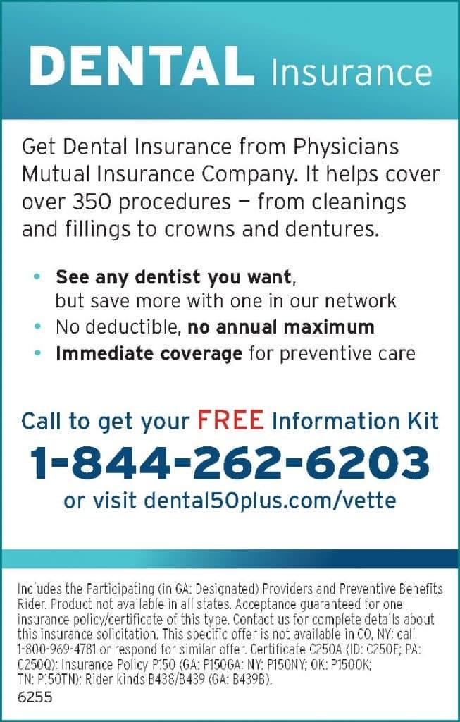 Dental Insurance 1-844-262-6203