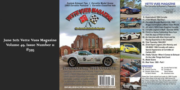 JUNE 2021 VETTE VUES MAGAZINE ISSUE PREVIEW