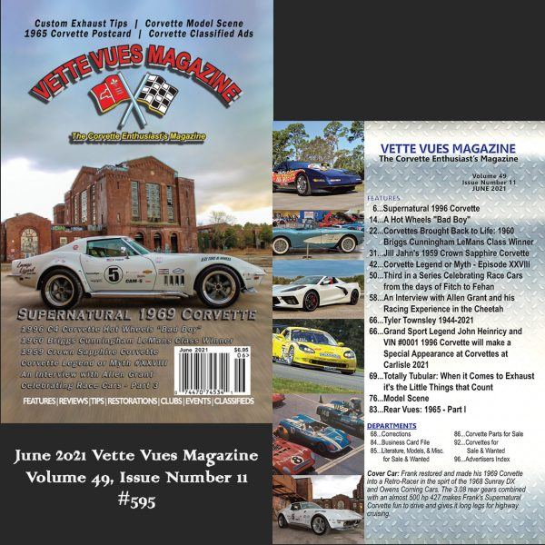 June 2021 Vette Vues Magazine