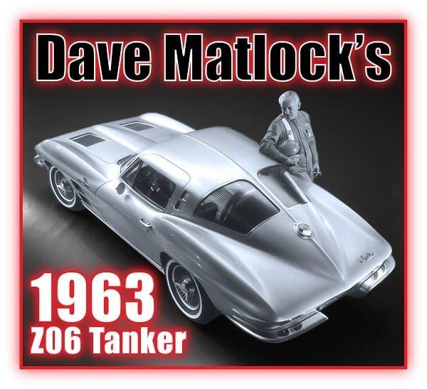 Dave Matlock's 1963 Z06 Tanker Sting Ray