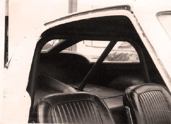1963 Corvette ZO6 Tanker Interior