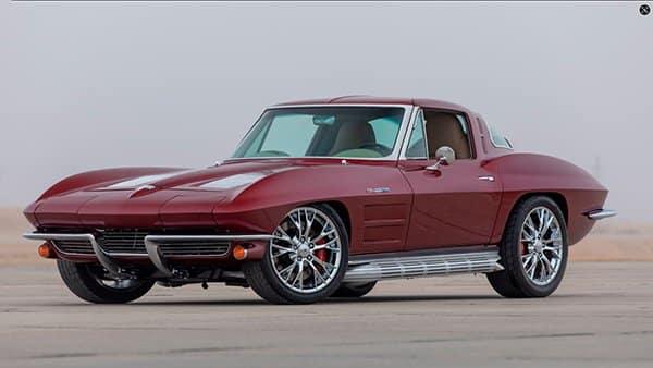 1963 Corvette Restomod sold at Mecum Auction