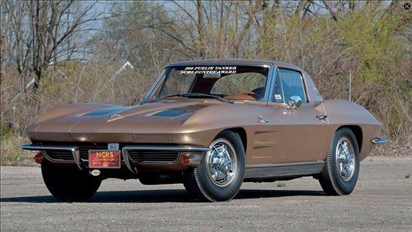 1963 ZO6 Corvette 36-gallon Fuel Tank sold at Mecum Auction