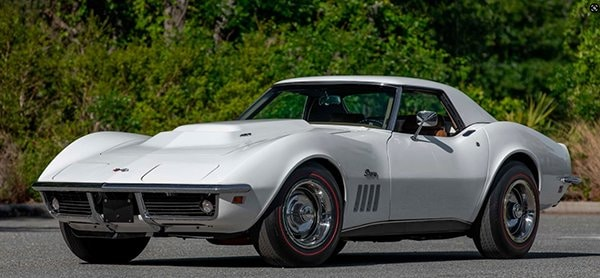 1969 L88 Corvette did not sell at Mecum Auction