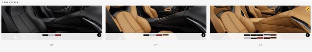 2022 Corvette Trim Levels