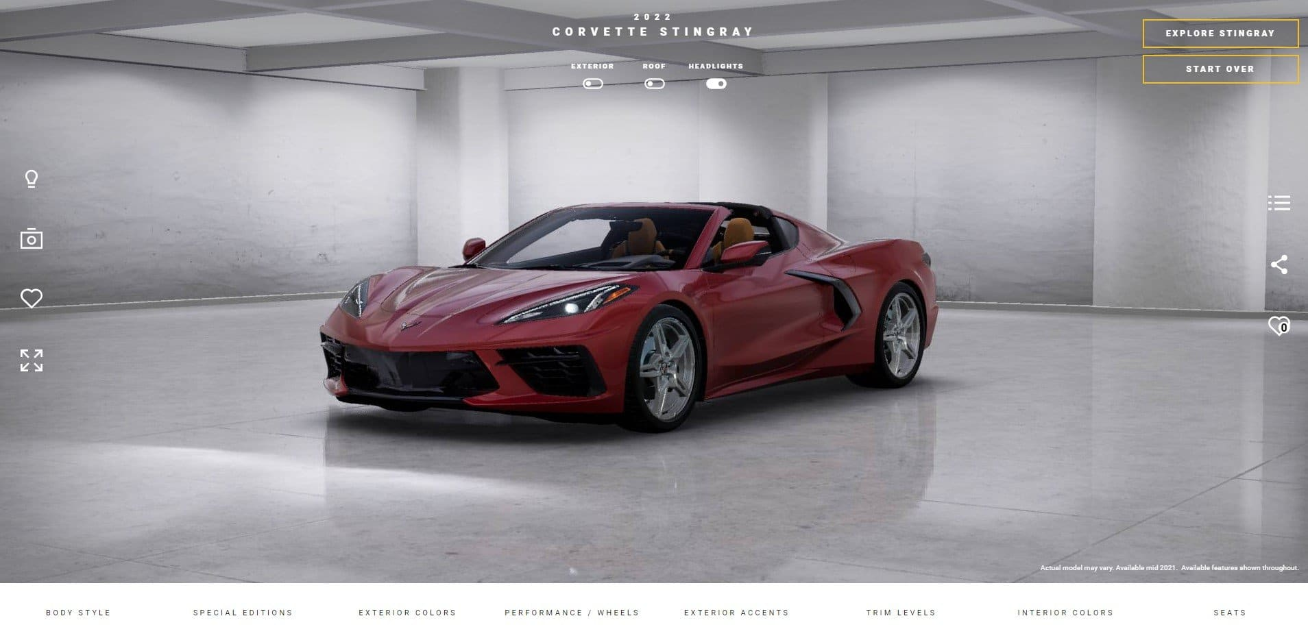 2022 Corvette Visualizer Tool is Now Live!