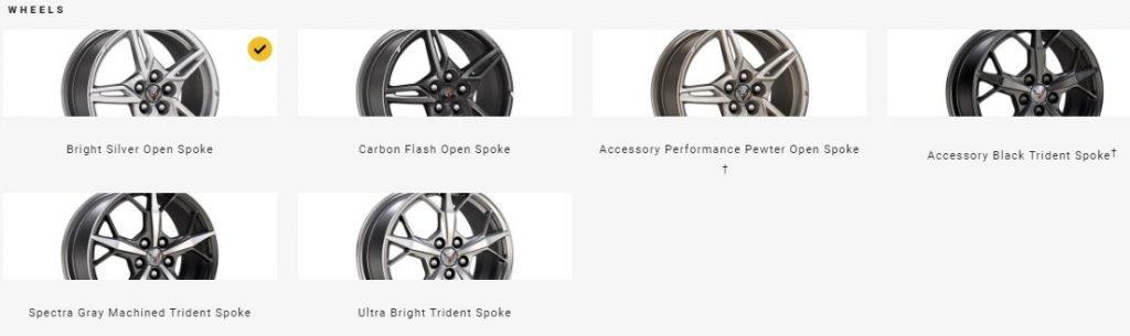 2022 Corvette Wheels