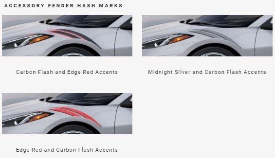 2022 Corvette Fender Hash
