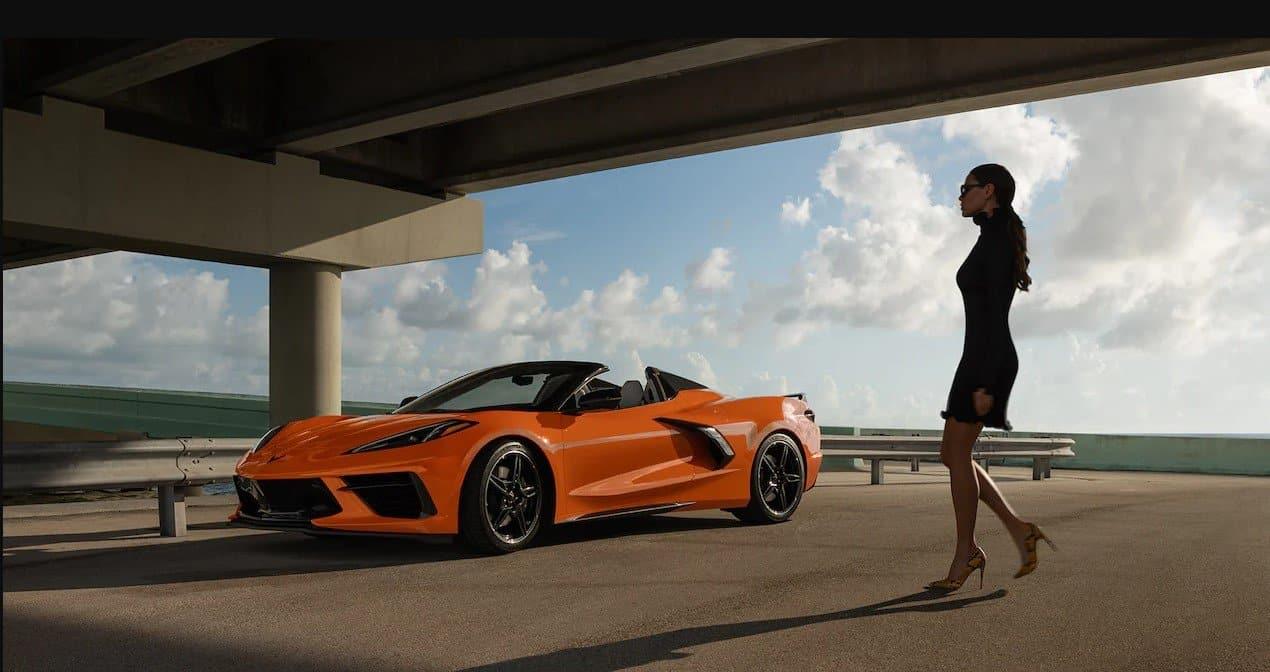 Amplify Orange 2022 Corvette