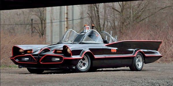 1985 Corvette Batmobile Replica did not sell sold at Mecum Auction