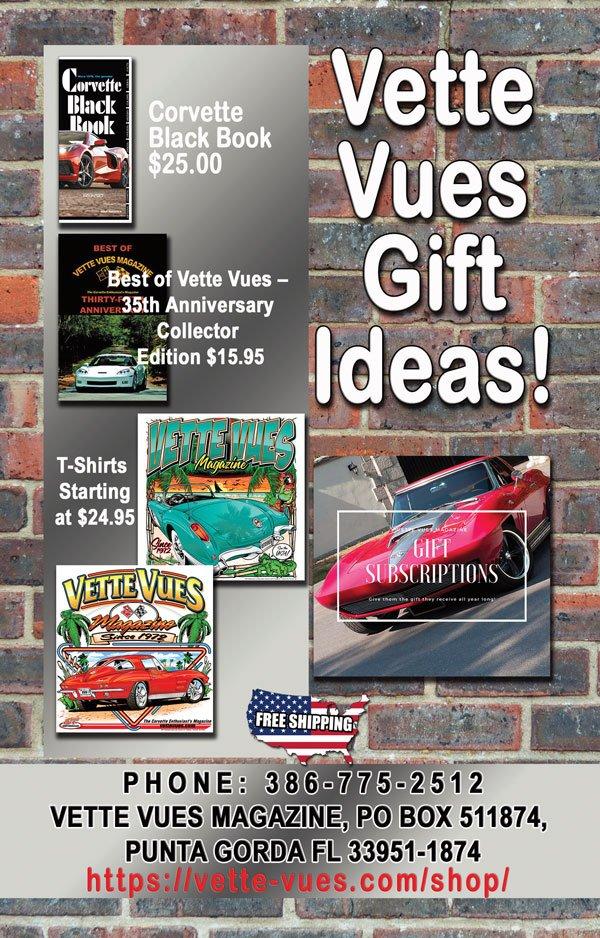 Corvette Gift Ideas