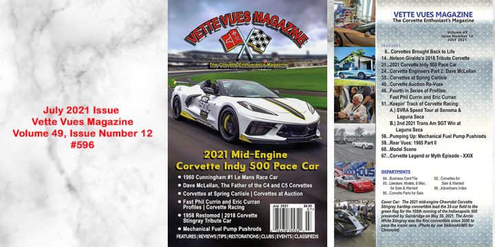 JULY 2021 ISSUE PREVIEW VETTE VUES MAGAZINE