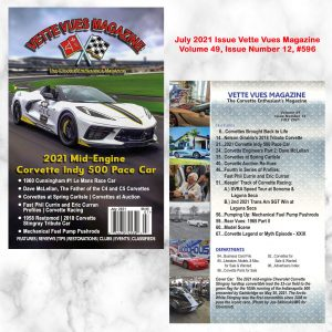July 2021 Issue Vette Vues Magazine