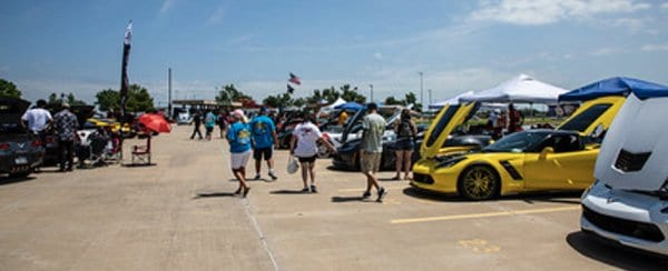The NCCO Toys for Tots 13th Annual Corvette Show was well attended.
