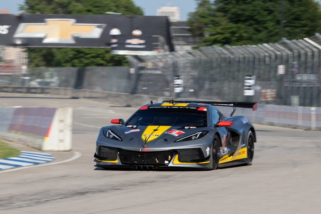 Tommy Milner and Nick Tandy too the No. 4 Corvette across the finish line 0.226 seconds ahead of No. 3 Corvette