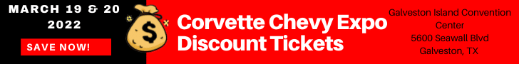 Discount Tickets for Corvette Chevy Expo