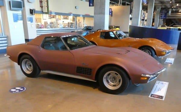 1971 Corvette LS6 ZR2 Convertible No 14708 Owned by Richard Ferrando, Gillespie IL