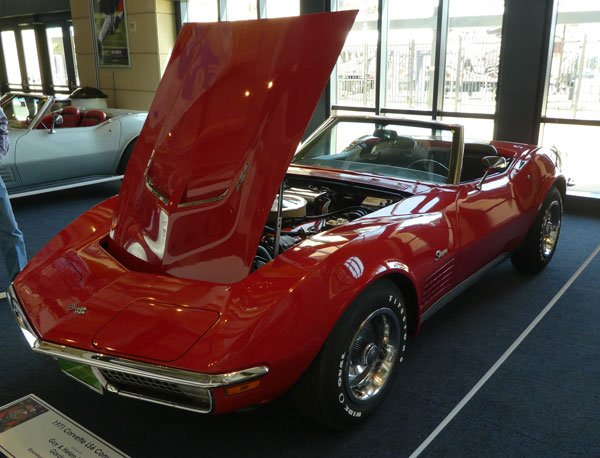 1971 Corvette LS6 Convertible No 13525 owned by Guy & Helen Mabee, Gordon TX