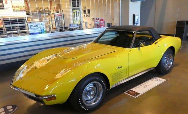1971 Corvette LS6 Convertible No 13115 owned by Ed Vickers, Cincinnati OH