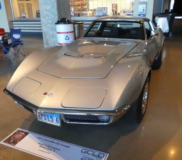 1971 Corvette LS6 Convertible No 12914 owned by Dean & Sue Nelson, Wood Dale IL