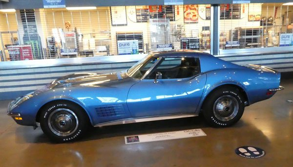 1971 Corvette LS6 Coupe No 12160 owned by Greg Horton, Warrenton MO