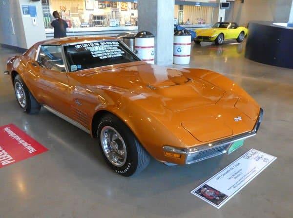 1971 Corvette LS6 Convertible No 12677 Current Custodian Terry McManmon, Berwyn IL
