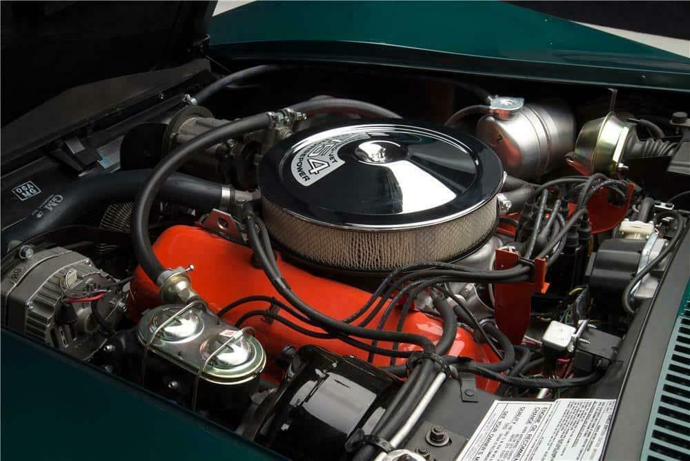 1971 Corvette LS6 ZR2 Engine