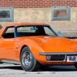 1971 Ontario Orange Corvette ZR2 Convertible Sold $380,000 at Mecum Auction 2019