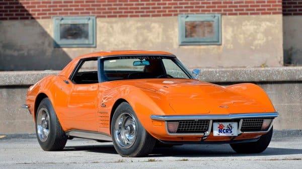 1971 Corvette ZR2 Convertible Sold $380,000 at Mecum Auction 2019