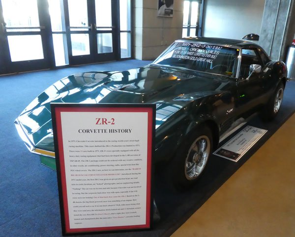 1971 Corvette LS6 ZR2 Convertible No 14630 Owned by Ed and Theresa Foss, Roanoke IN