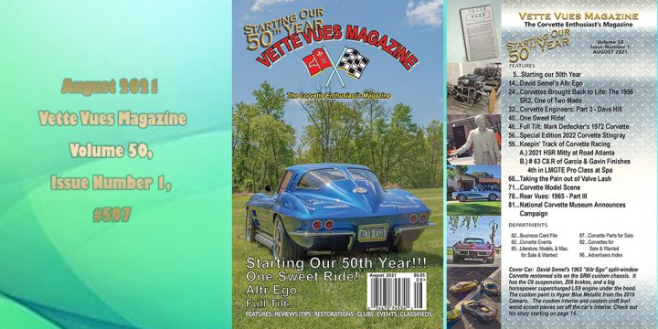 August 2021 Issue Preview Vette Vues Magazine