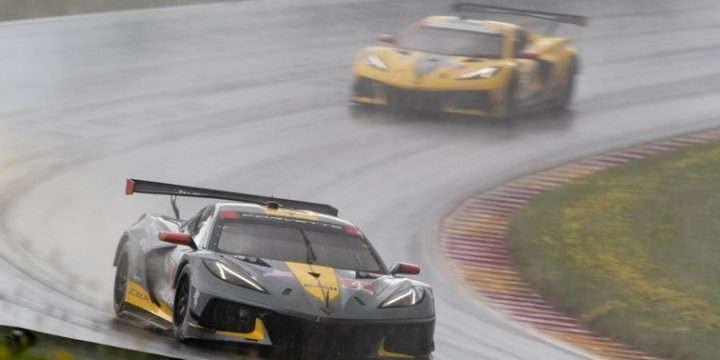 CORVETTE RACING AT LIME ROCK: C8.R Goes Short-Track Racing Results