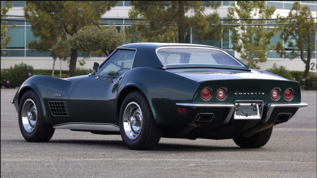 Mecum Sold 1971 ZR2 for $440,000 at Monterey 2010