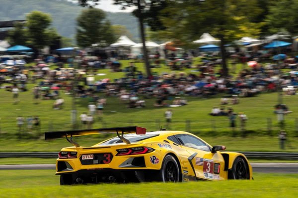 Taylor Eager to defend his Race win in his return to Road America in the #3 Corvette C8.R. Taylor and Garcia pilot the No. 3 Mobil 1/SiriusXM Chevrolet Corvette C8.R