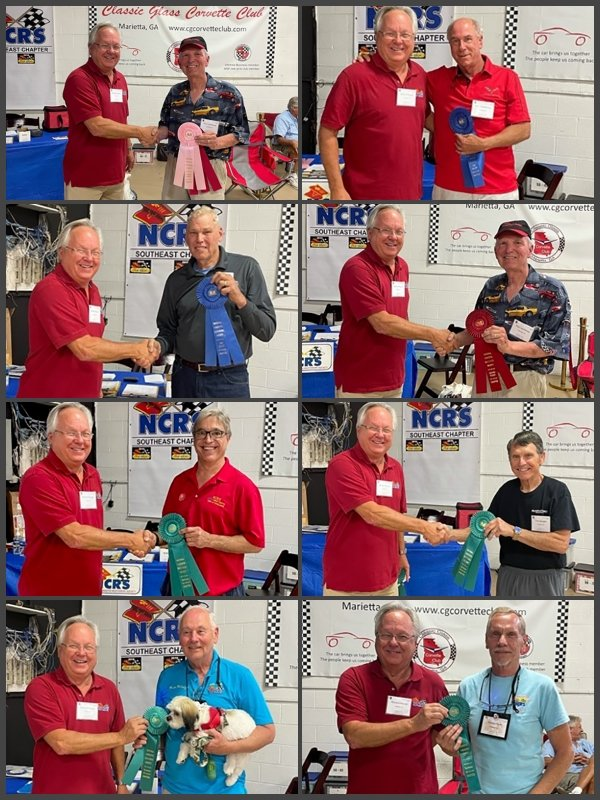2021 NCRS Southeast Chapter Meet Awards