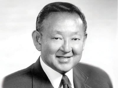 Lawrence Kiyoshi (Larry) Shinoda (March 25, 1930 – November 13, 1997) was a legendary American automotive designer who was best known for his work on the Chevrolet Corvette and Ford Mustang.