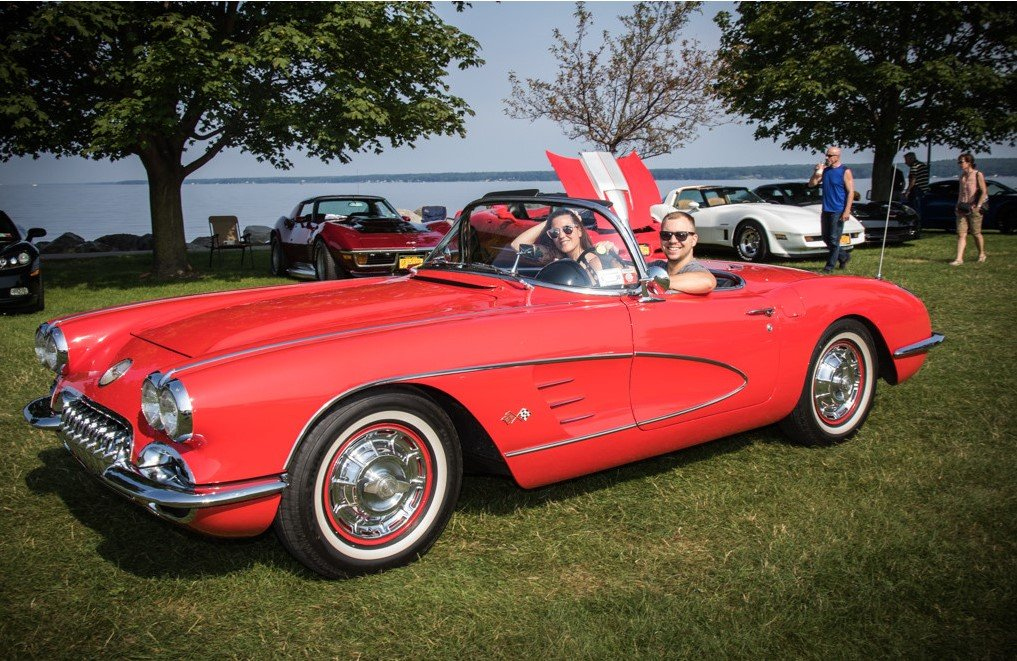 No matter what year Corvette, Red is always one of the favorites!