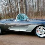 1961 Gray Corvette Convertible Lot S216 that sold for $352,000